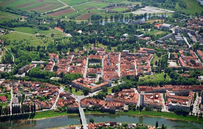 The beautiful Croatian town of Karlovac