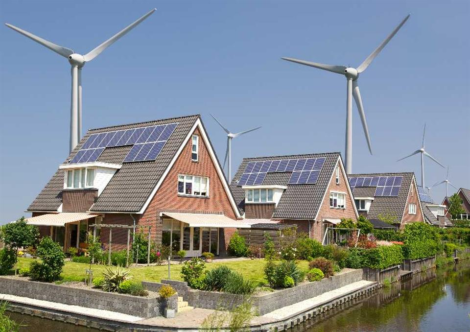 A carbon neutral community (NL, to be replaced with UK images)